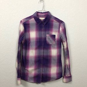 Purple and Pink Flannel